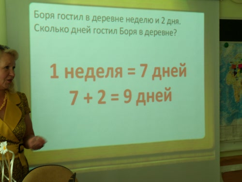 использование проектора в школе