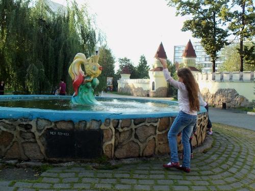 фонтан золотая рыбка