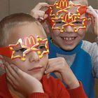 дети в очках макдоналдс