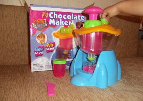 набор для изготовления шоколадных конфет
