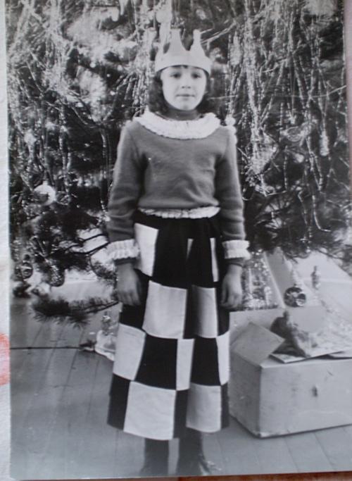 новогодний костюм королева шахмат