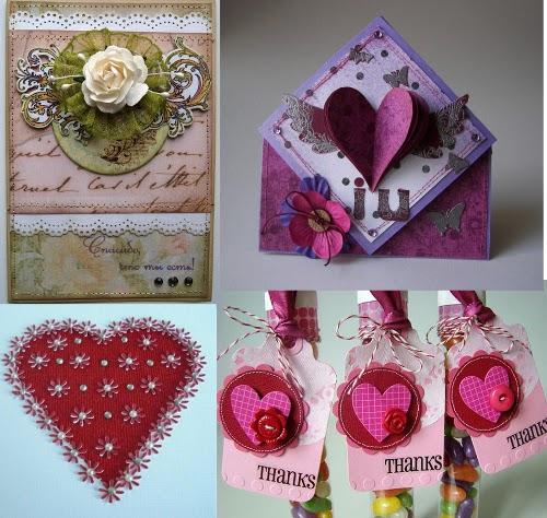 открытки к дню влюбленных скрапбукинг