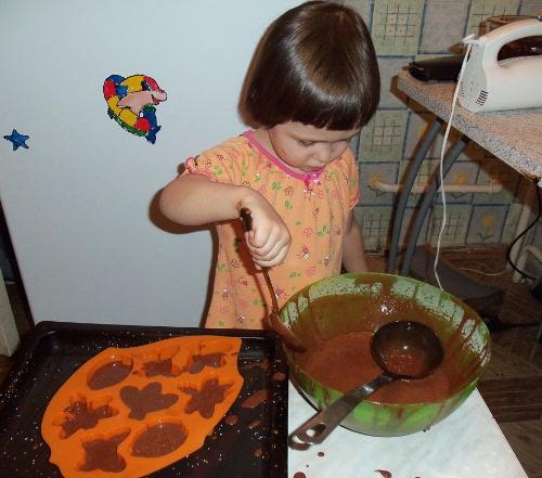 печем кексы