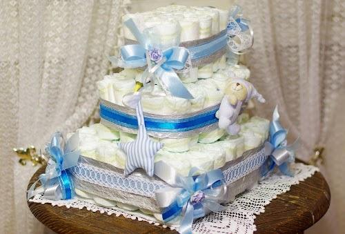 торт из подгузников 3