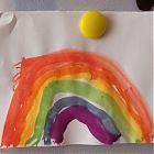 рисунок радуга 3%2C5 года