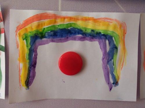 как дети рисуют радугу 2