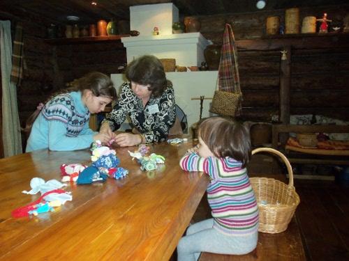 музей мастер-класс тряпичная кукла