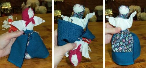 тряпичные куклы-перевертыши