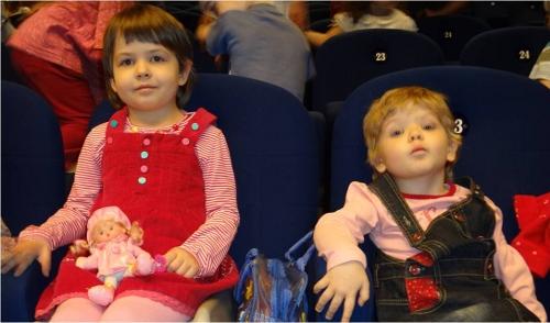 дети в театриуме на серпуховке