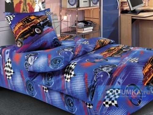 постельное белье с машинами
