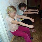 упражнение мотороллер