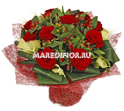 букет из роз доставка