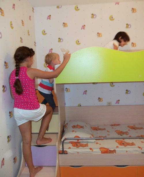 лестница для кровати с ящиками