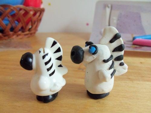 зебра из киндера
