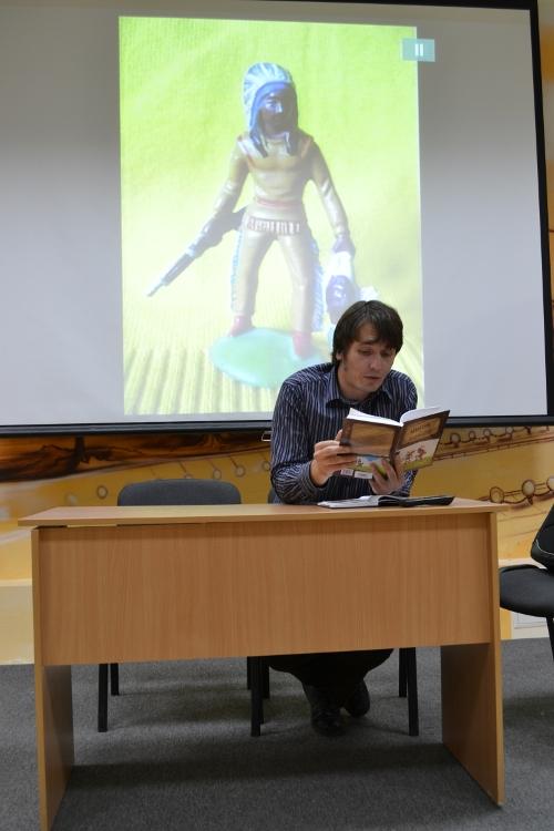 ядрышников читает свою книгу