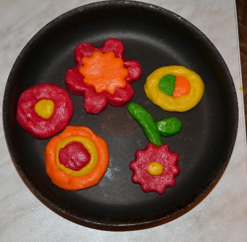печенье цветочки