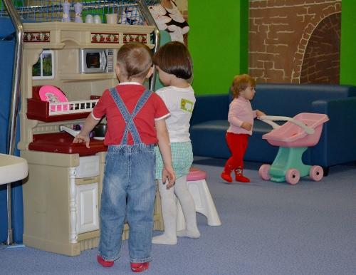 в детском центре фокус
