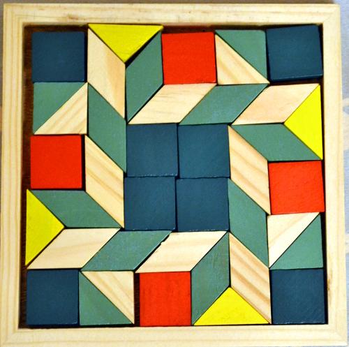 узор деревянная мозаика