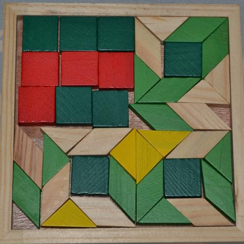 как собрать мозаику