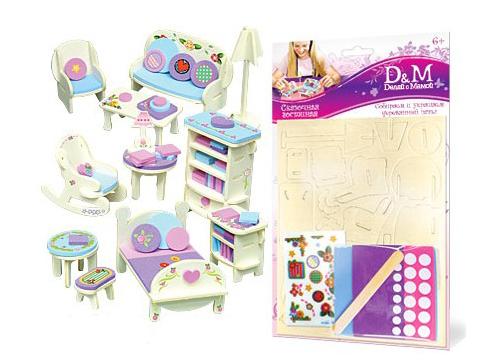 сборная мебель для куколки