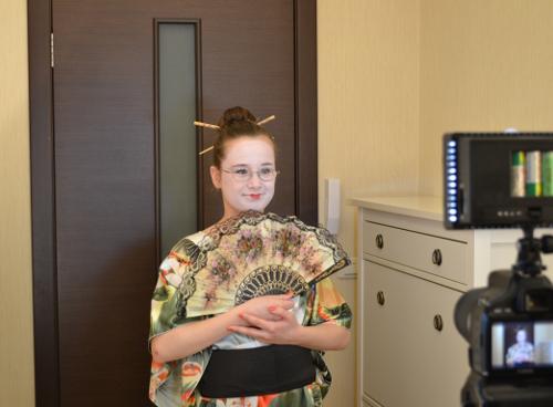 костюм японки детский