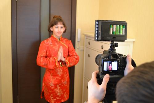 костюм китаянки детский