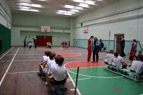 спортзал школа 151