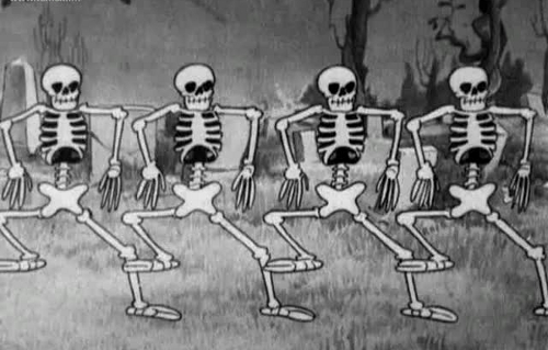 скелетики пляшут