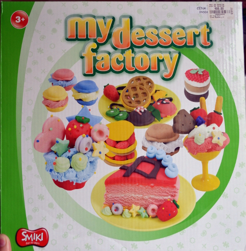 смики набор для творчества фабрика десертов