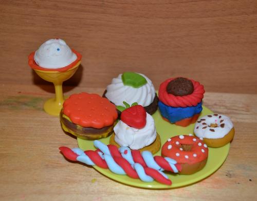 масса для лепки десерты