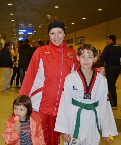 ольга иванова чемпионка мира тхэквондо