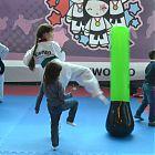 дети тренировка тхэквондо