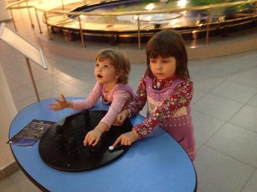 дети в московском планетарии