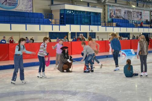 детский праздник на катке в челябинске
