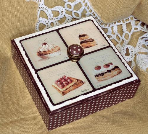 шкатулка для сладостей