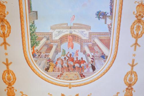 театр оперы и балета плафон на потолке