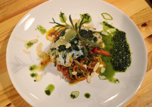 рыба по-провански с овощами