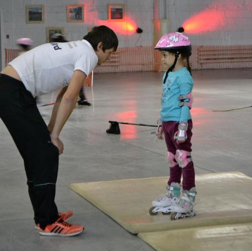 школа катания на роликах