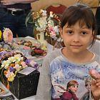 хенд-мейд выставка цветы из фоамирана