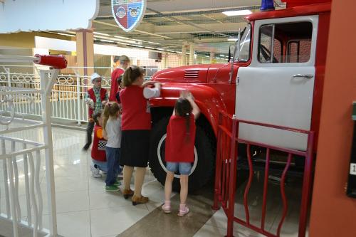 чадоград пожарная машина