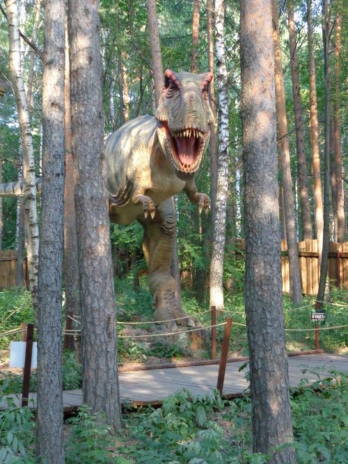 динозавры парк маяковского