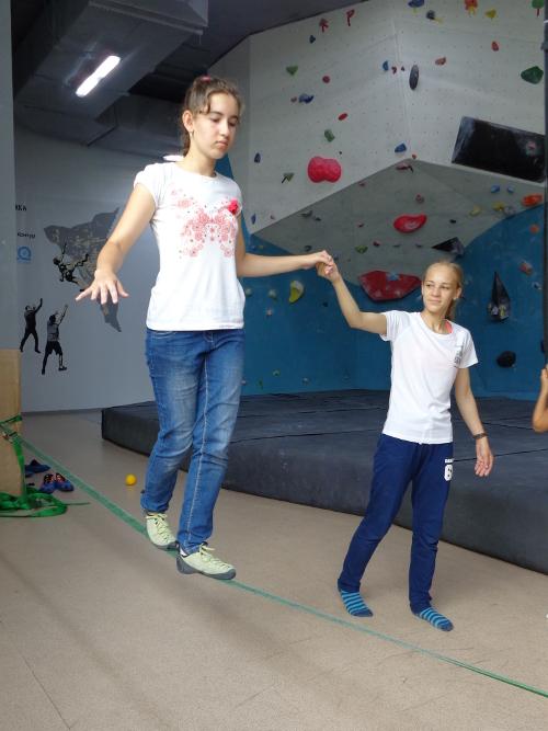 тренировка равновесия