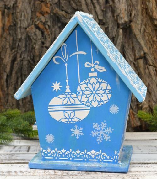 чайный домик новый год