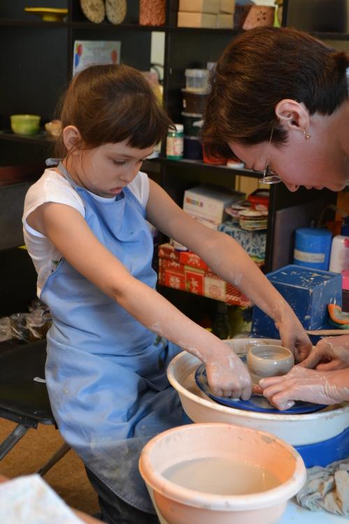 мастер-класс по гончарному делу для детей