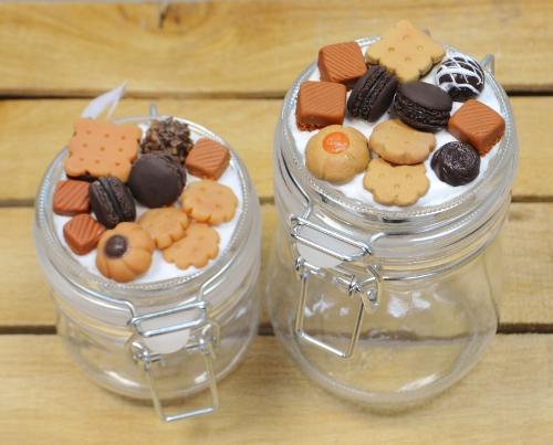 баночки с печеньем полимерная глина