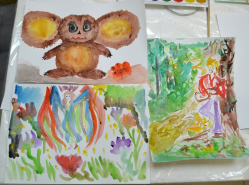 интуитивная живопись мастер-класс