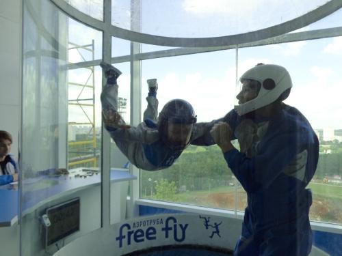 аэротруба free fly дети