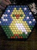сова из мозаики