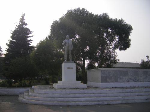 Еткуль памятник Ленину