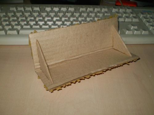 крыша для картонного домика